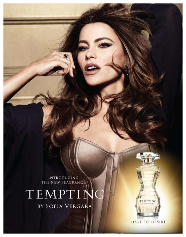 Sofia vergara Tempting publicidad