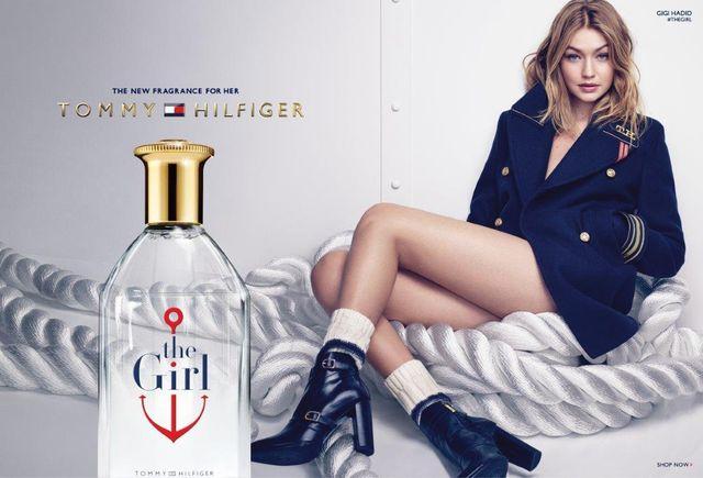 The girl tommy Hilfiger Gigi Hadid
