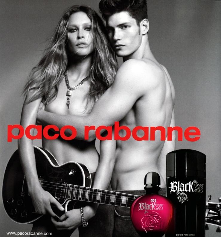 Paco Rabanne Black xs Eau de beaux