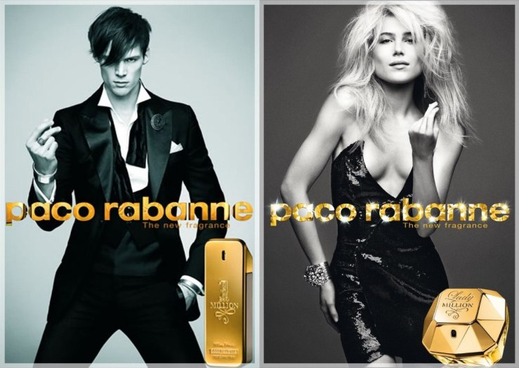 paco rabbane 1 milllion lady million eau de beaux