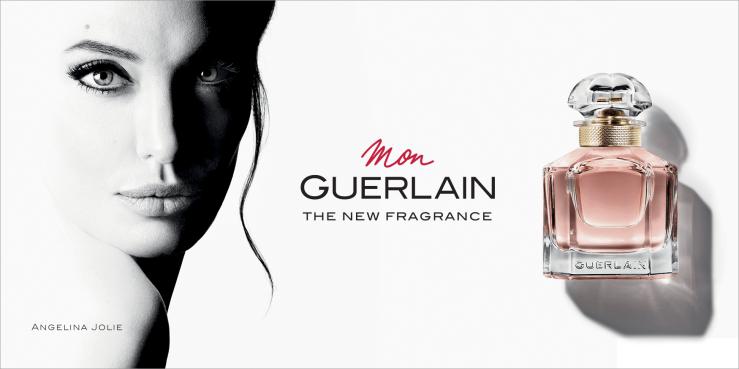 Angelina Jolie Mon Guerlain eau de beaux