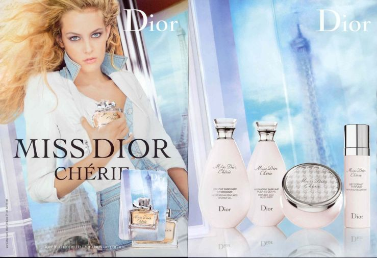 Miss Dior Cherie eau de beaux ad