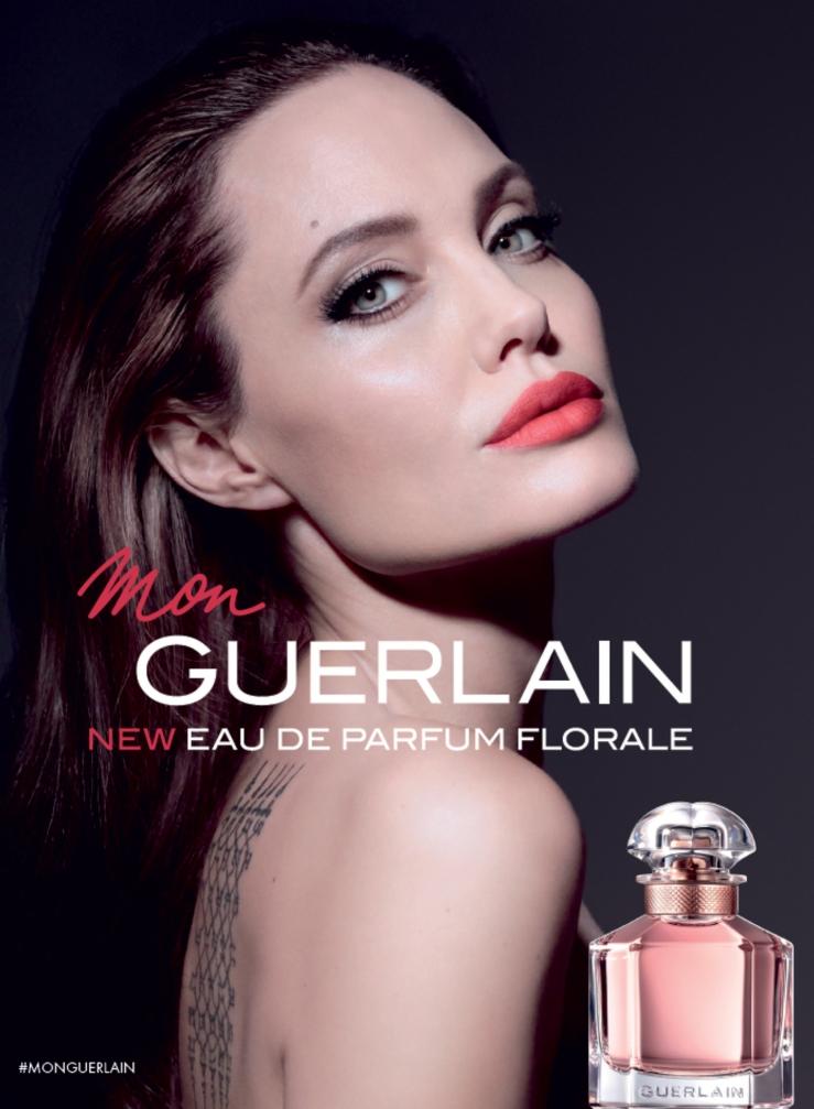 Mon Guerlain Florale eau de beaux Angelina Jolie