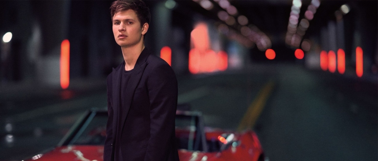 Ansel Elgort for polo red rush