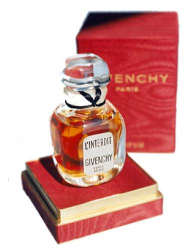 l'interdit Givenchy 1957