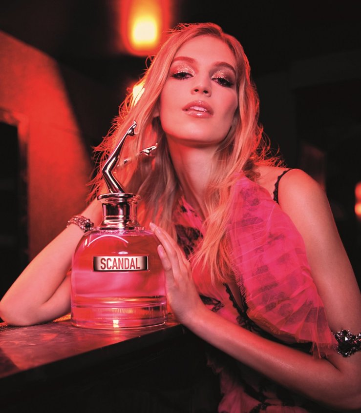 Vanessa Axente scandal by night jean paul gaultier