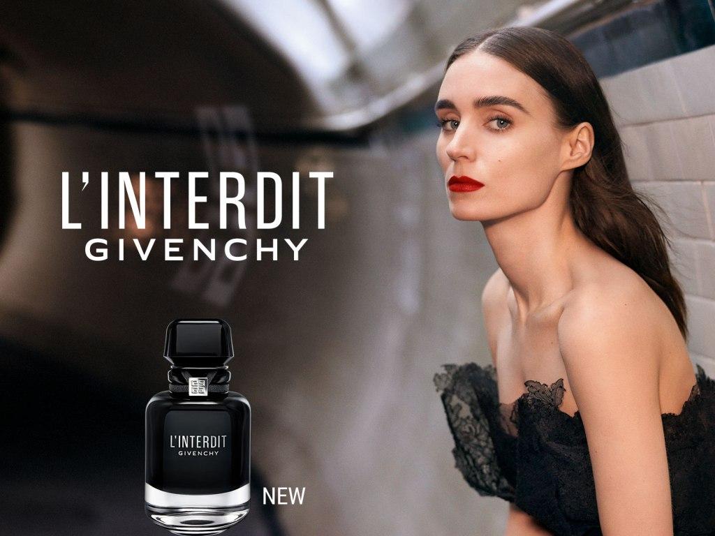 La imagen tiene un atributo ALT vacío; su nombre de archivo es Givenchy-LInterdit-Intense-eau-de-beaux-reoney-mara-1024x768.jpg