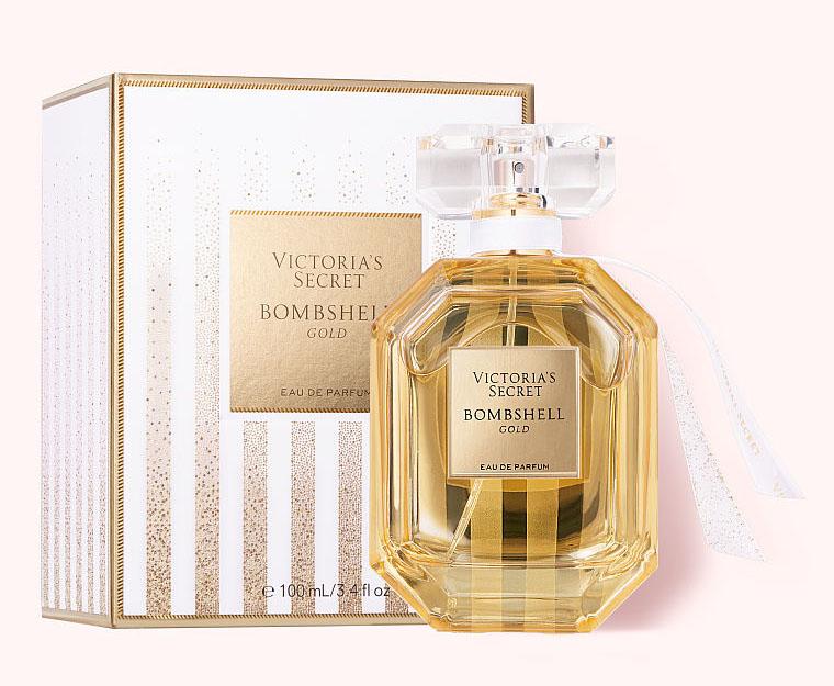 La imagen tiene un atributo ALT vacío; su nombre de archivo es Victorias-secret-Bombshell-Gold-2020-botella.jpg