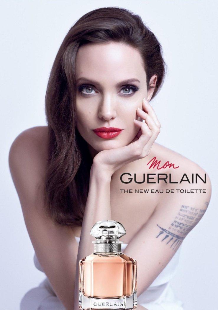 Angelina Jolie mon guerlain eau de toilette