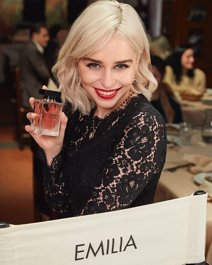 Emilia Clarke dolce gabanna the only one perfume.jpg