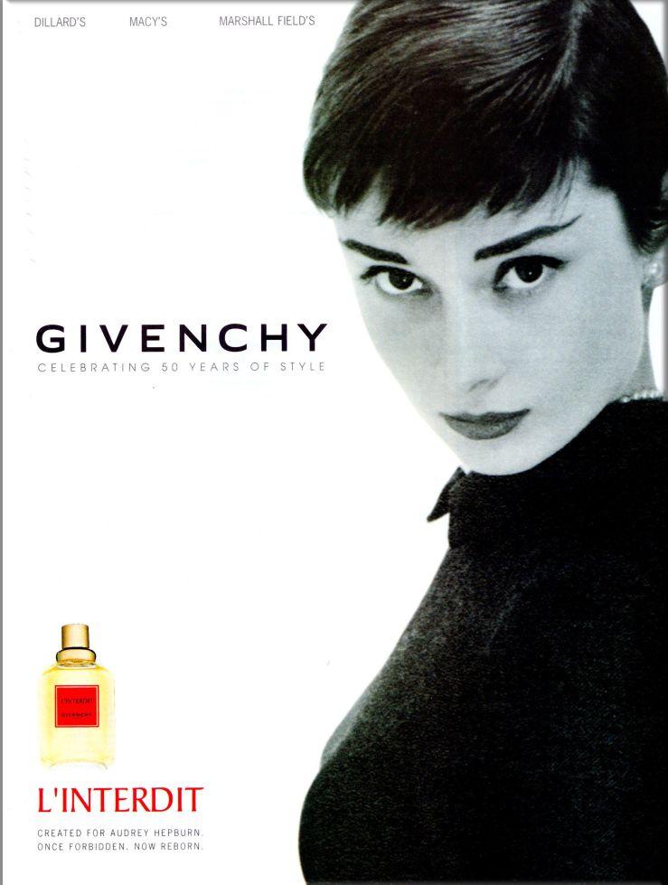 L'Interdit  Audrey Hepburn givenchy