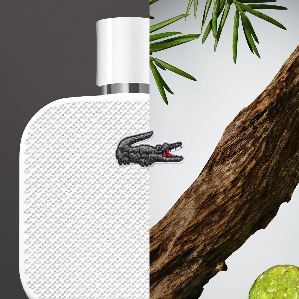 Lacoste l1212 blanc eau de parfum eau de beaux ingredientes