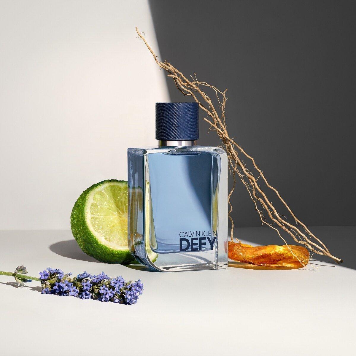 Ingredientes Calvin Klein Defy