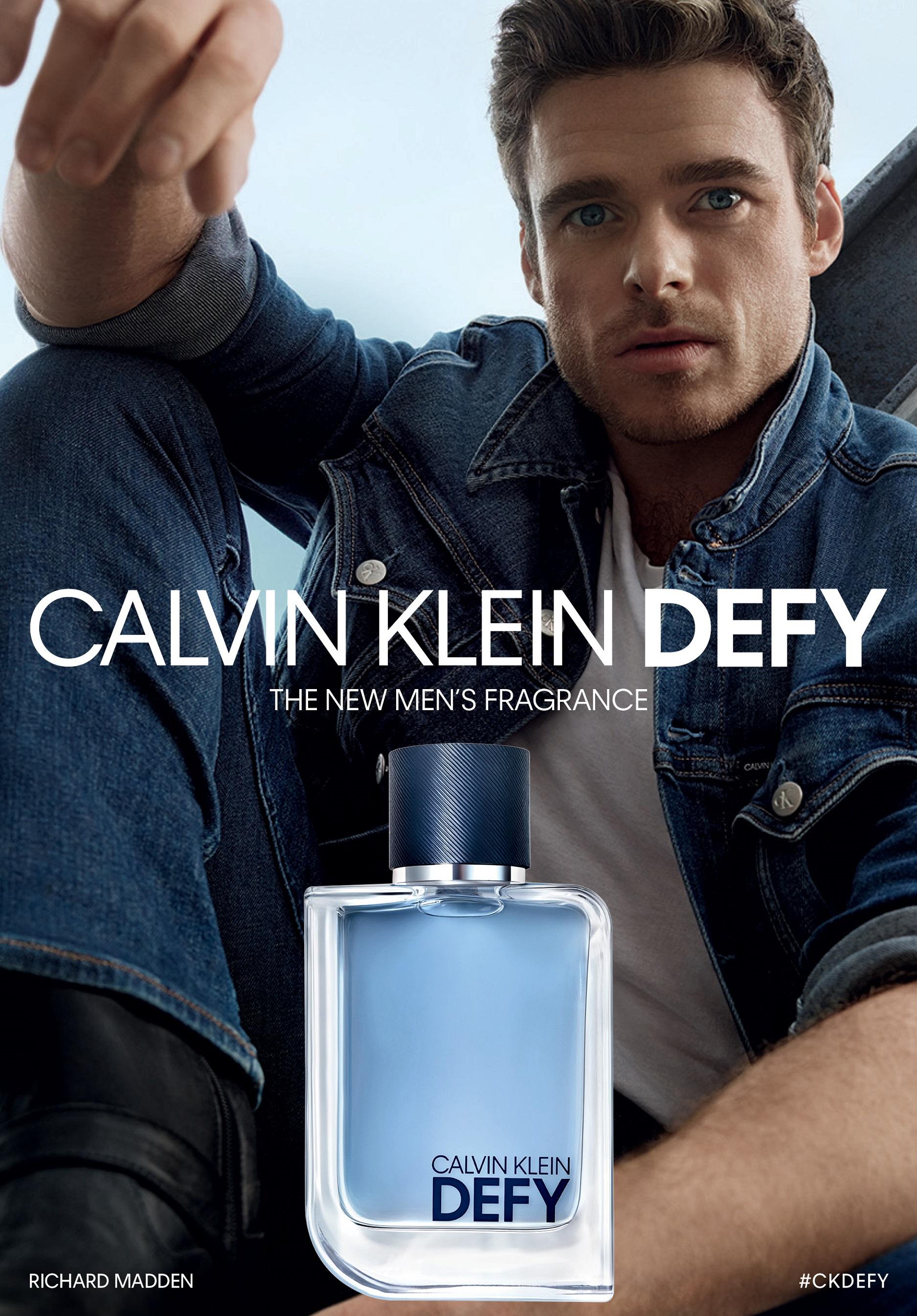 Richard Madden para Calvin Klein Defy