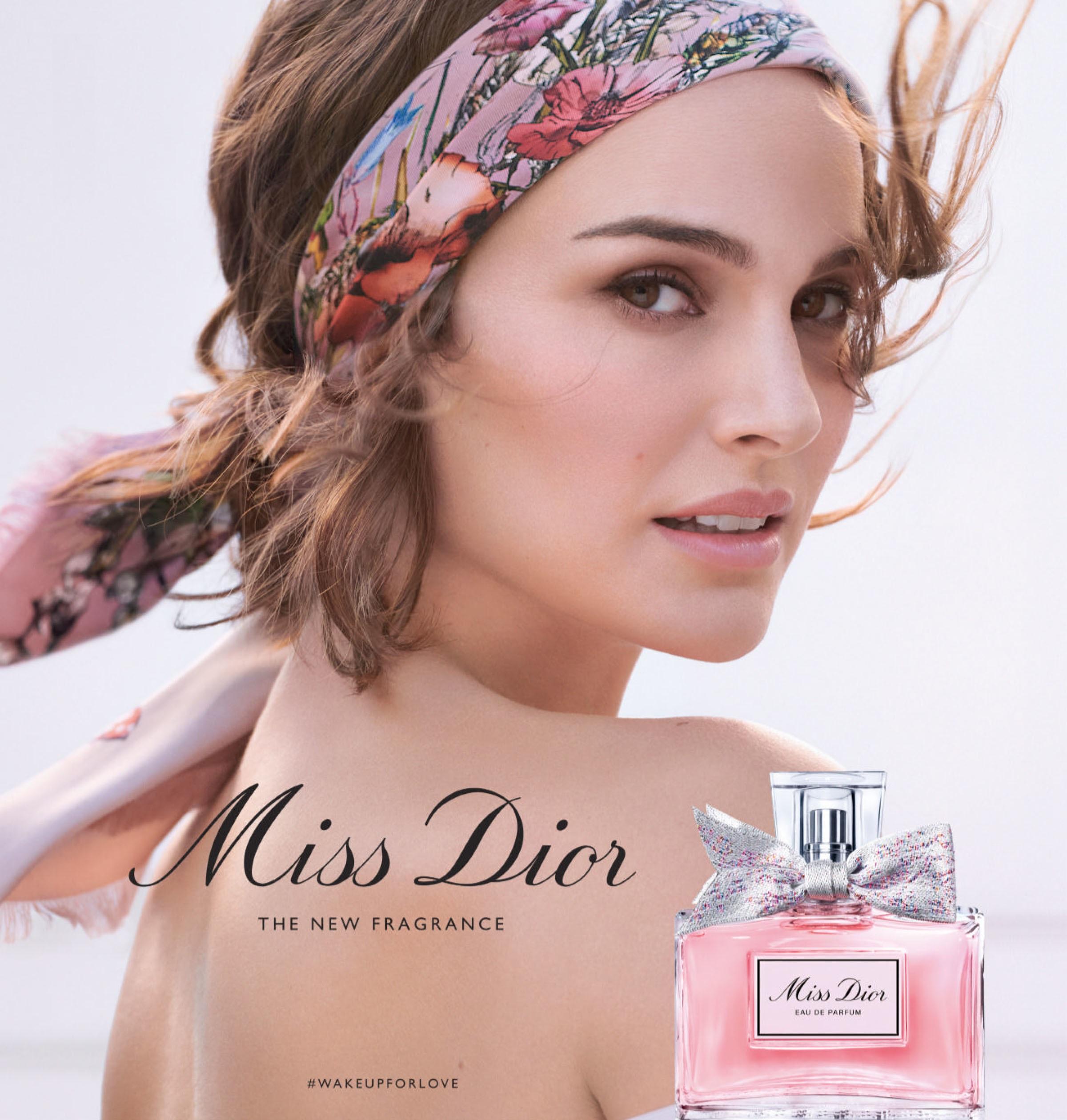 Natalie Portman Mis Dior Eau De Parfum 2021